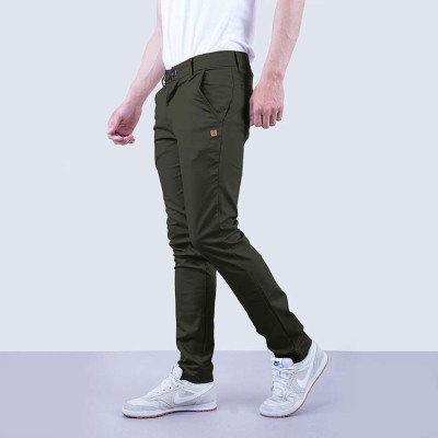 Celana Chino Franklin Hijau Army