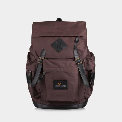 Tas Ransel Backpack Brain Storm Brown