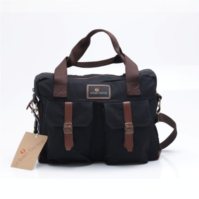 Tas Travel Bag Messenger Busy Black