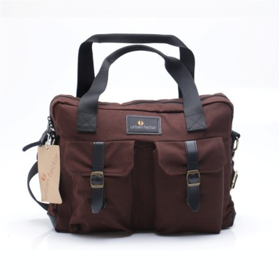 Tas Travel Bag Messenger Busy Brown