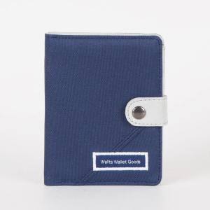 Dompet Canvas Claus Navy Grey