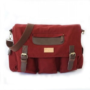 Tas Selmpang Messenger Haven Maroon