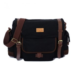 Tas Selempang Messenger Haywood Black