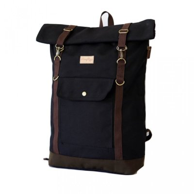 Tas Travel Backpack Raven Black