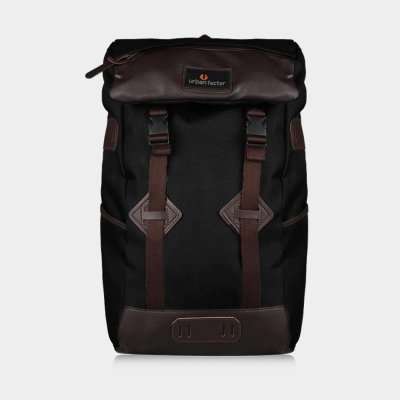 Tas Backpack Travel Skyscrapper Black