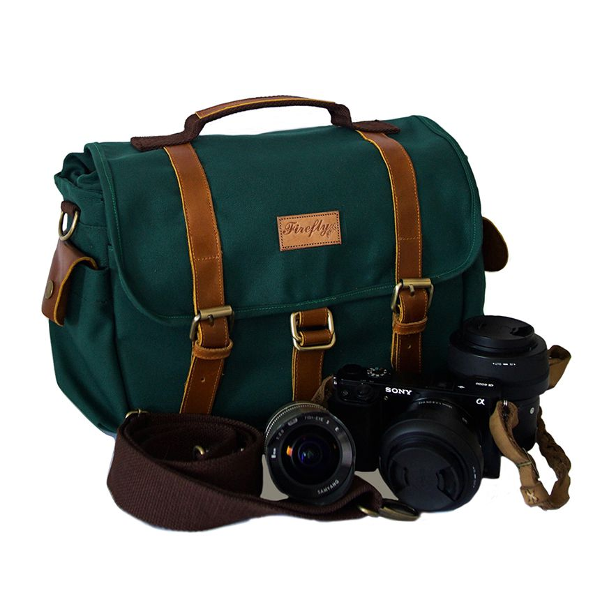 Tas Kamera Camera Bag Denver Green