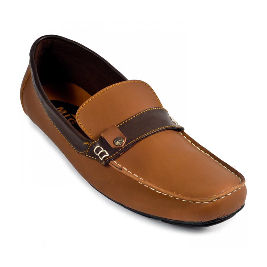 Sepatu Slipon Loafer Siberia Moccasin Brown