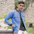Jaket Denim Hydra Dark Blue