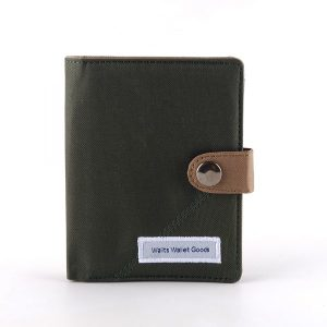 Dompet Canvas Claus Midnight Army-Khaki
