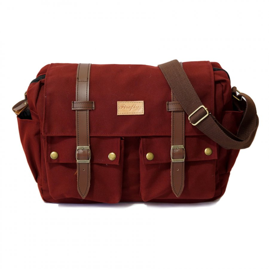 Tas Messenger Orion Maroon