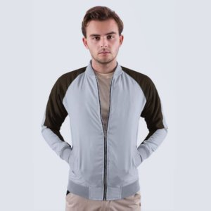 Jaket Paolo Grey Brown