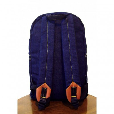 ransel jeans denim 1st dry navy