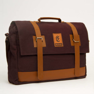 Tas Messenger Faixo Quarto Dark Brown