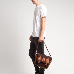 Tas slingbag Faixo Segundo Dark Brown
