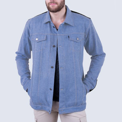 Jaket Denim Jeans Stallion Light Blue