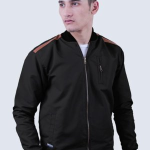 Jaket Parasut Modric Black Brown