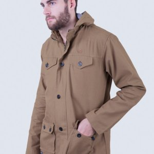 Jaket Parka Edward Canvas Coffee