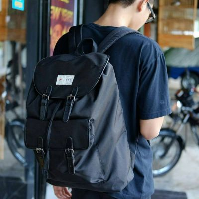 Tas Backpack Rucksack 408 Black