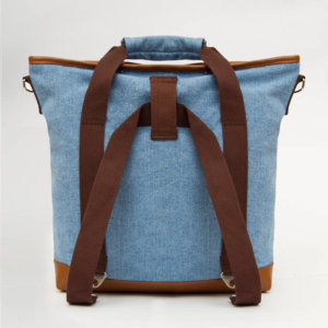 Ransel Tote bag Teo Primeiro Light Blue Denim