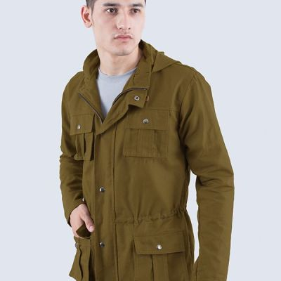 Jaket Parka Kanvas Marvin Green