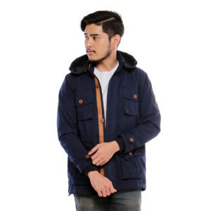 Jaket Parka Manhattan Navy