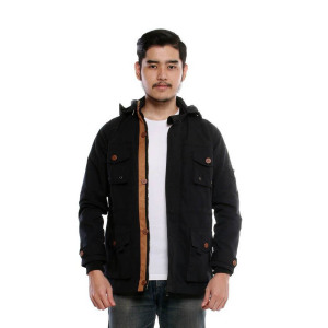 Jaket Parka Manhattan Black