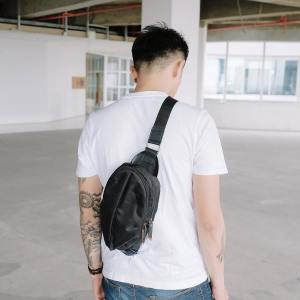 Turtle Shoulder Bag 406 Black