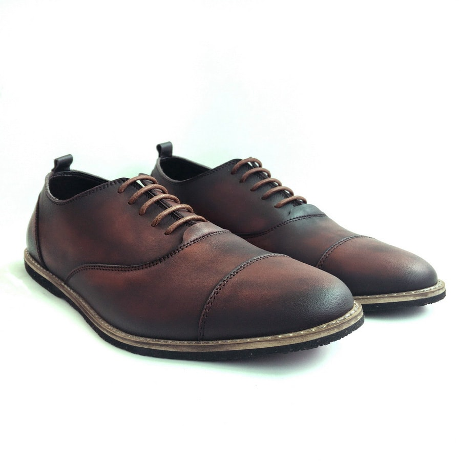 Sepatu Casual Barney Brown Brush Off