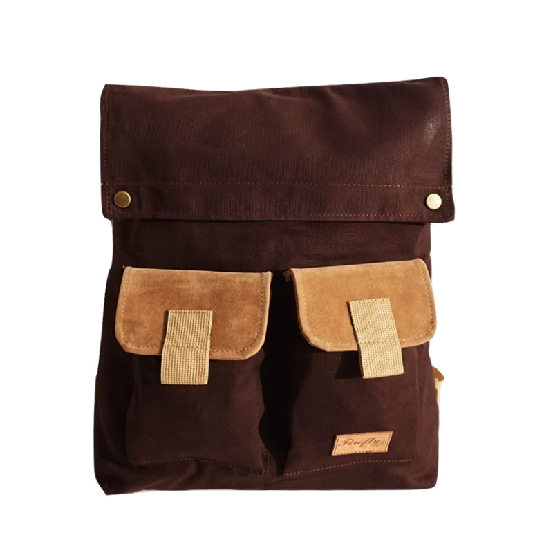 Tas Ransel Apollo Dark Brown