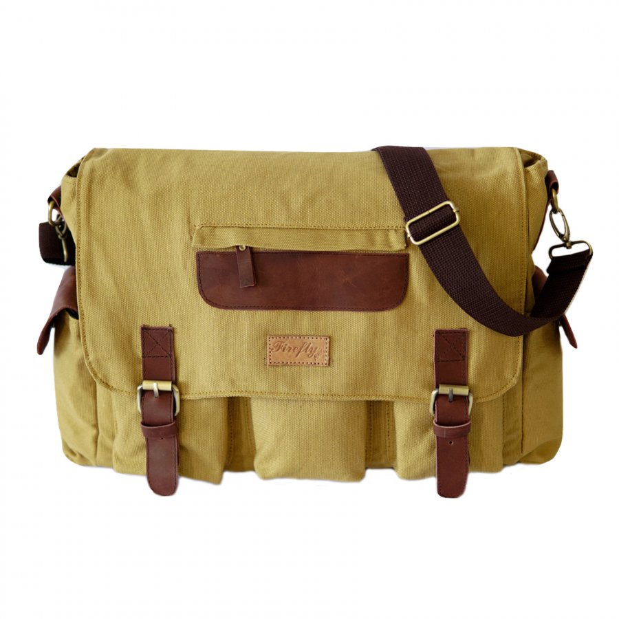 Tas Selmpang Messenger Haven Cream