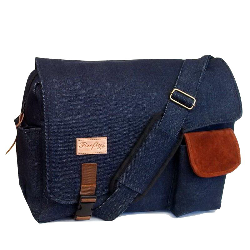 Tas Slingbag Messenger Rascal Denim Navy