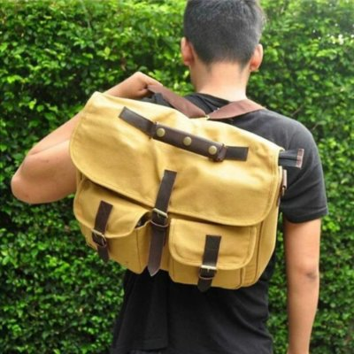 Tas Messenger Avner Fly Cream