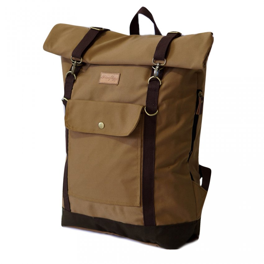 Tas Travel Backpack Raven Khaki