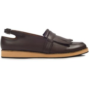 sepatu slipon women rein darkbrown