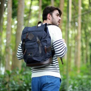 Tas Ransel Backpack Brain Storm Denim