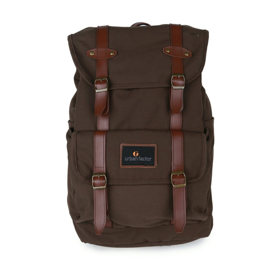 Tas Ransel Mix Up Brown
