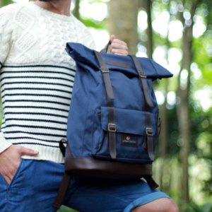 Tas Travel Ransel Jam Session Navy