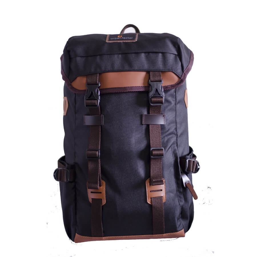 Tas Backpack City Hustle Black