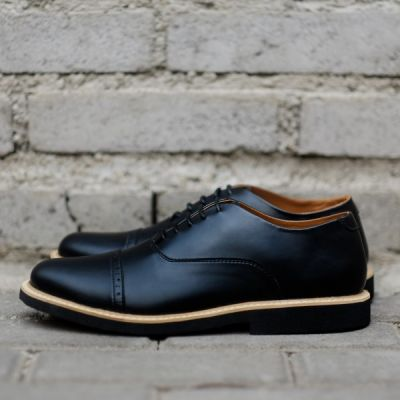 Sepatu Formal Oxford Fstp Black