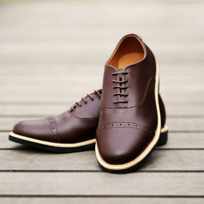 Sepatu Formal Oxford Fstp Brown