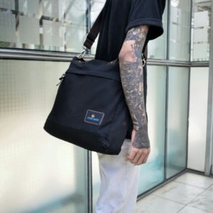 Tas Selempang Handbag Hard Work Black
