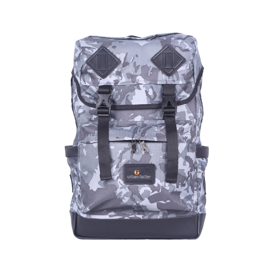 Tas Ransel Backpack Underground Camo Grey