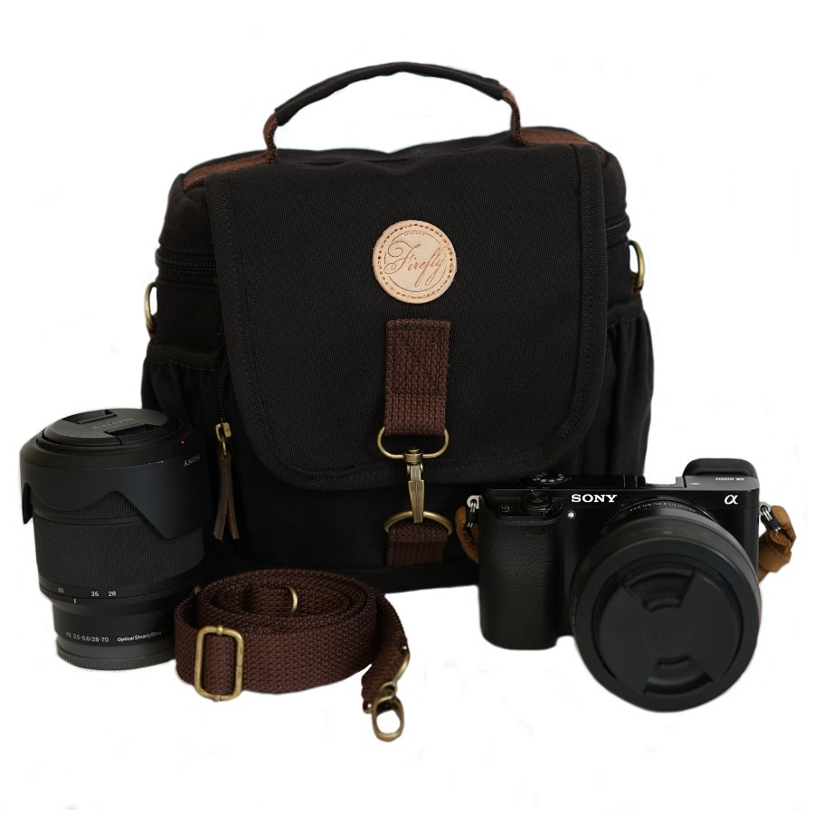 Tas Camera Slingbag Ivers Black