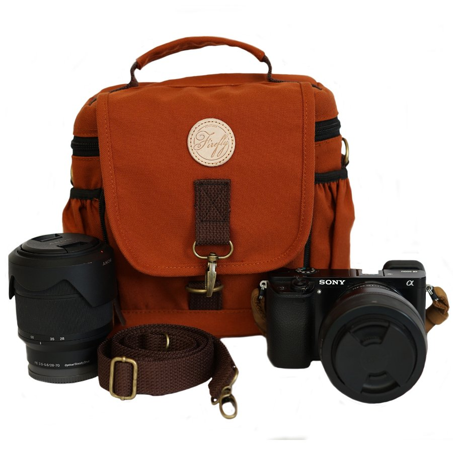 Tas Camera Slingbag Ivers Brick Red