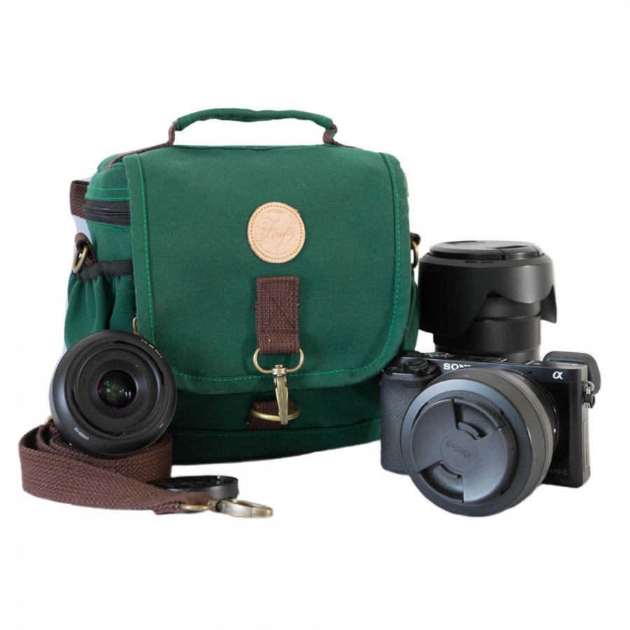 Tas Camera Slingbag Ivers Green
