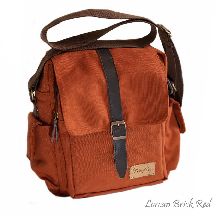 Tas Mini Slingbag Lorcan Brick Red