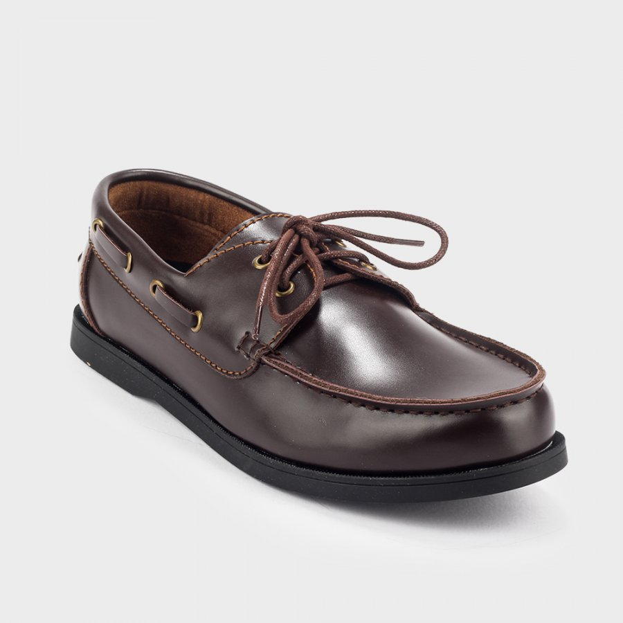 Sepatu Loafer Slipon Pandya Brown