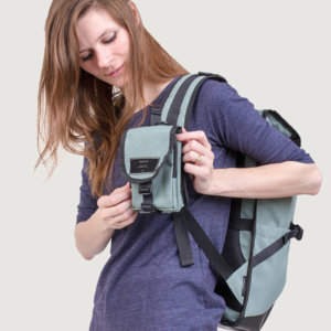 Tas Mini Slingbag Bolso Primeiro Green Eco