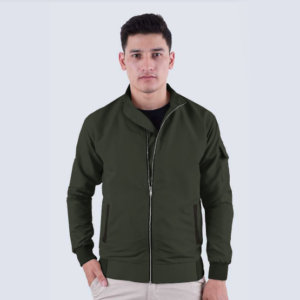 Jaket Camden Green Black