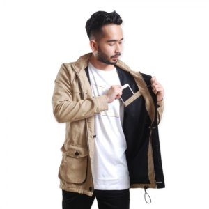 Jaket Parka Brooklyn Cream
